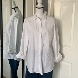 NEW LISTING! J.Crew white stretch shirt